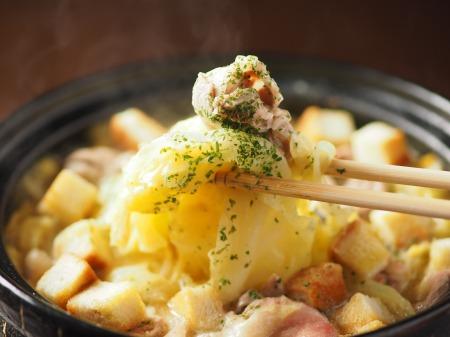 キャベツと豚肉のクリーム鍋028