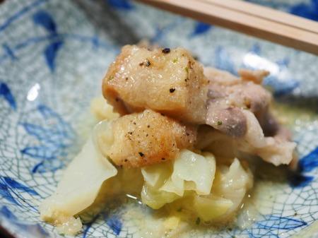 キャベツと豚肉のクリーム鍋037