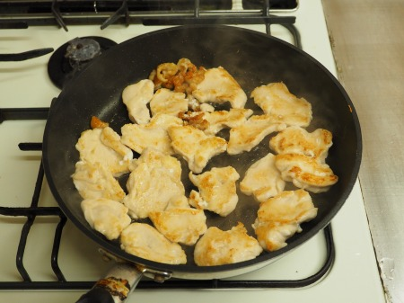鶏むね肉とヒラタケのすき焼き062