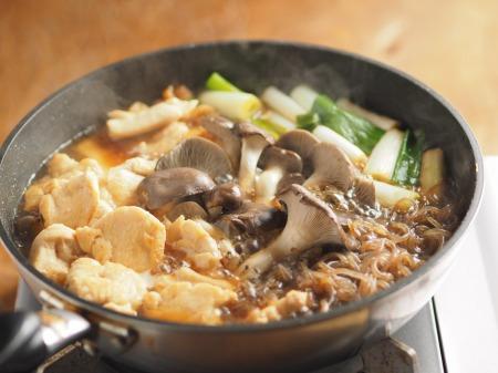 鶏むね肉とヒラタケのすき焼き028