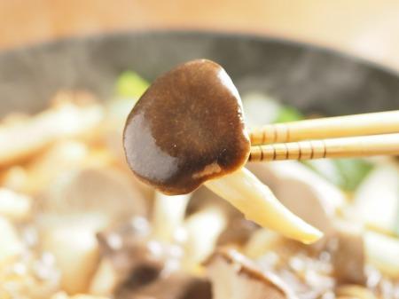 鶏むね肉とヒラタケのすき焼き038