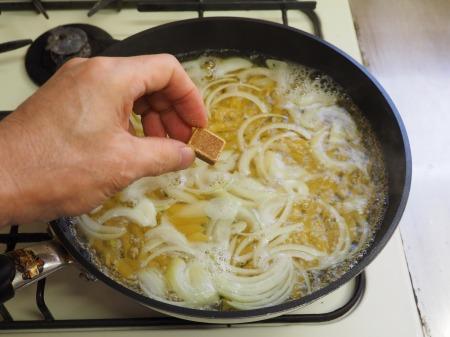 小松菜の温玉クリームペンネ047