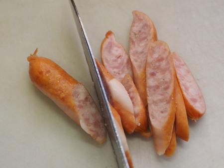 小松菜の温玉クリームペンネ048