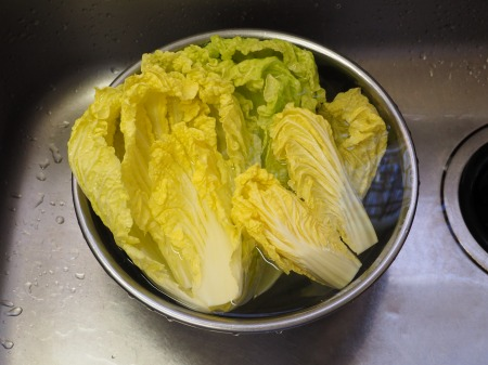白菜の焼酎漬け、生ハム巻き042