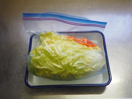 白菜の焼酎漬け、生ハム巻き049