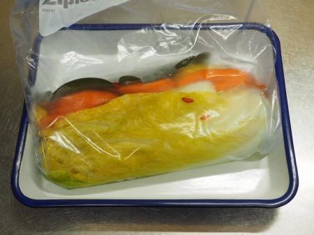 白菜の焼酎漬け、生ハム巻き052