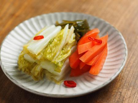 白菜の焼酎漬け、生ハム巻き028