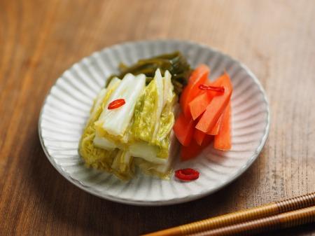 白菜の焼酎漬け、生ハム巻き037