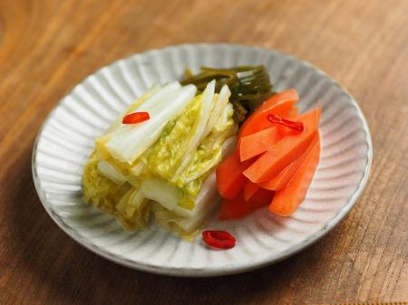 白菜の焼酎漬け、生ハム巻き032
