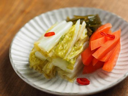 白菜の焼酎漬け、生ハム巻き026