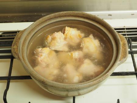 カレー豆腐と手羽元のめんつ043