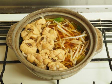 カレー豆腐と手羽元のめんつ057
