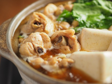カレー豆腐と手羽元のめんつ019