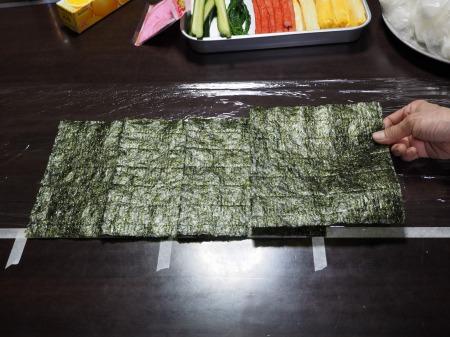 長い巻き寿司039