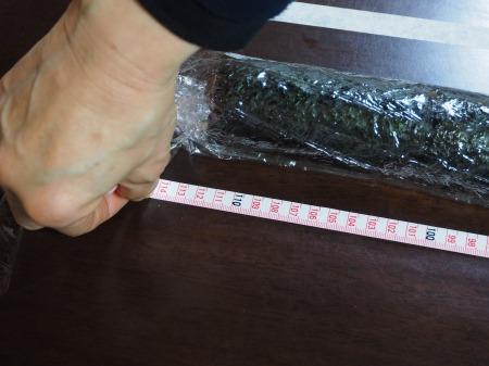 長い巻き寿司072