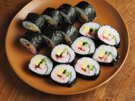 長い巻き寿司007