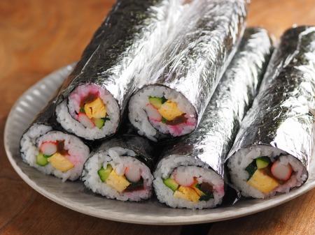 長い巻き寿司002