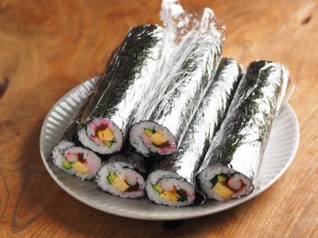長い巻き寿司003