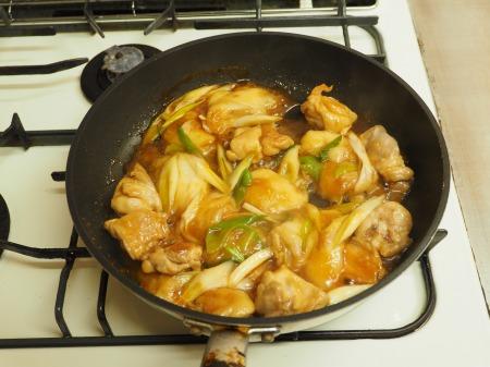 鶏餅炒め042