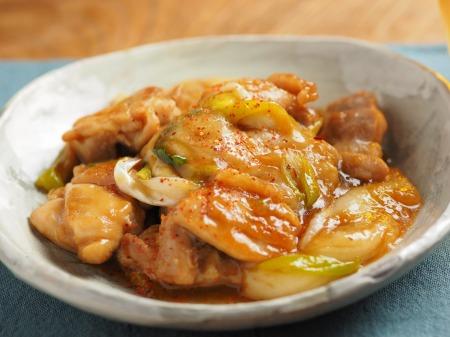 鶏餅炒め012