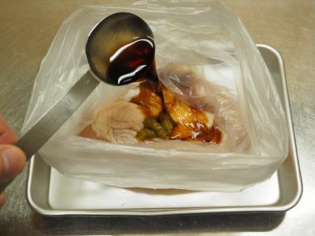 鶏むね肉のゆず胡椒ぽん酢焼034