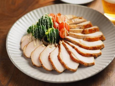 鶏むね肉のゆず胡椒ぽん酢焼009