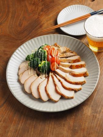 鶏むね肉のゆず胡椒ぽん酢焼017