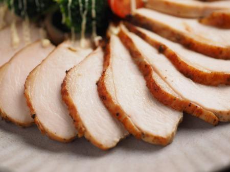 鶏むね肉のゆず胡椒ぽん酢焼012