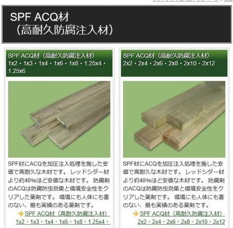 防腐加工木材