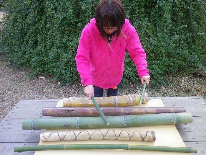 竹ドラム1