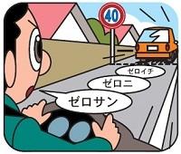 車間距離の測り方