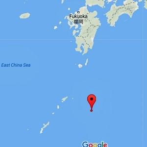 1メガトン級の水爆が眠っているとされる海域