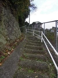 行き止まりの階段