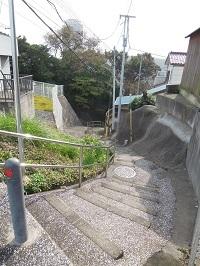 バテバテの階段