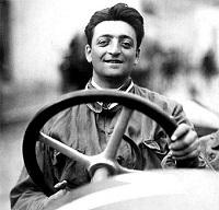 レーシングドライバー時代のエンツォ