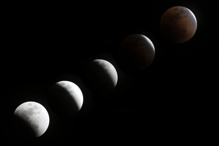 皆既月食 2018年1月31日T84A4147-1