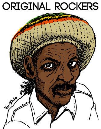 Augustus Pablo caricature likeness