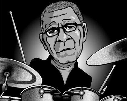 Jack Dejohnette caricature likeness