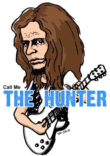 Paul Kossoff Free caricature likeness