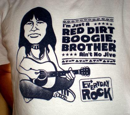 Jesse Ed Davis T Shirt caricature