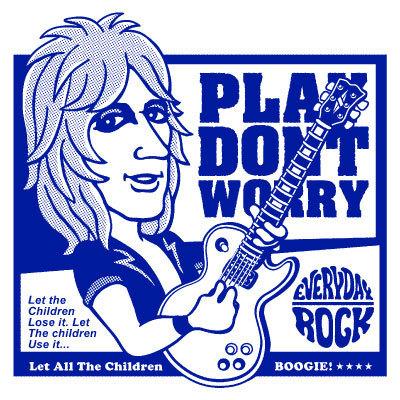 Mick Ronson T Shirt caricature