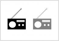 ラジオのフリー素材テンプレート・画像・イラスト