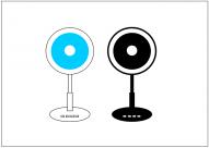 扇風機のフリー素材テンプレート・画像・イラスト