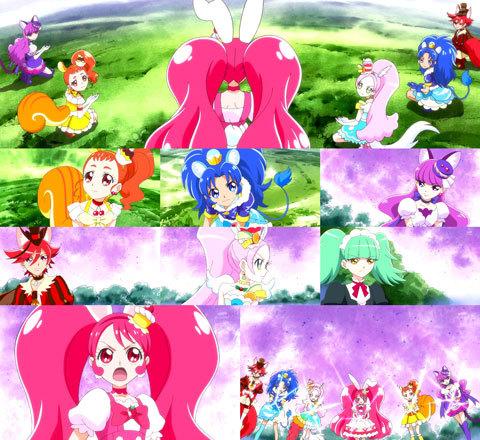 【キラキラ☆プリキュアアラモード】第33話「スイーツがキケン!?復活、闇のアニマル!」16