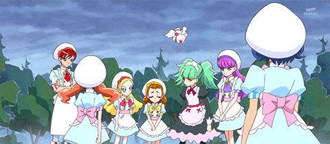 【キラキラ☆プリキュアアラモード】第33話「スイーツがキケン!?復活、闇のアニマル!」08