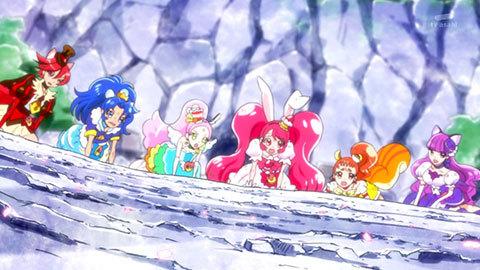 【キラキラ☆プリキュアアラモード】第40話「レッツ・ラ・おきがえ!スイーツキャッスルできあがり!」09