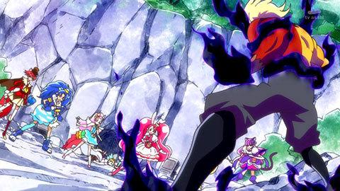 【キラキラ☆プリキュアアラモード】第40話「レッツ・ラ・おきがえ!スイーツキャッスルできあがり!」07