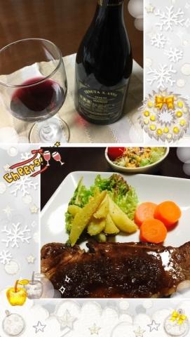 山形牛ステーキ&イタリアワイン
