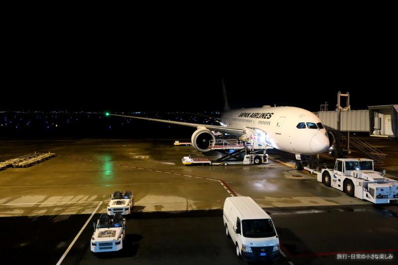 JL727 機内食 深夜便 関西 タイ エコノミー