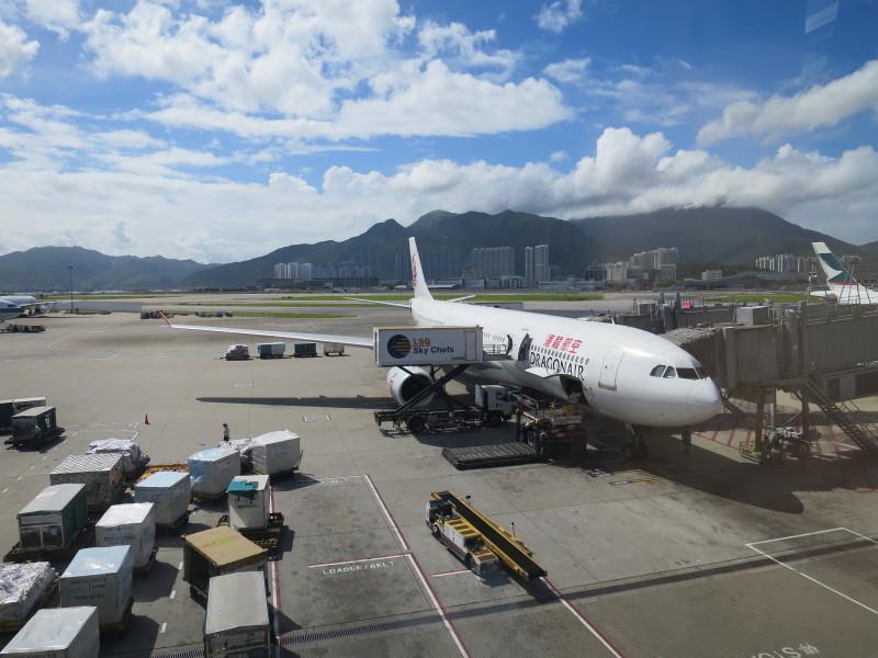 香港 ファーストクラスラウンジ キャセイドラゴン航空